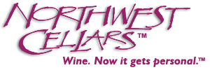 Northwest Cellars Custom Wine Labels